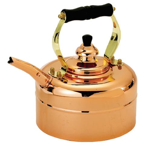 Old Dutch Windsor Whistling 3 qt. Tri-ply Copper Teakettle