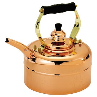 Old Dutch Windsor Whistling 3 qt. Tri-ply Copper Teakettle
