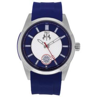 Jivago Men's Rush Quartz Rubber Strap Watch