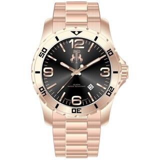 Jivago Men's Ultimate Black/ Rose Watch