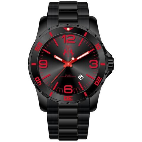Jivago Men's Ultimate Red/ Black Watch