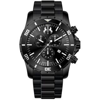 Jivago Men's Ultimate Black Chronograph Watch