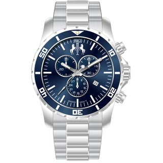 Jivago Men's Ultimate Stainless Steel Chronograph Watch