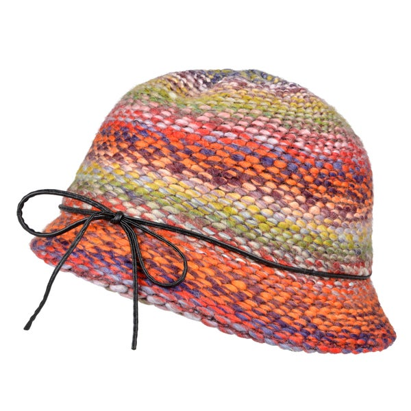 Journee Collection Womens Multicolor Bow Accent Bucket Hat