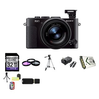 Sony Cyber Shot DSC-RX1 Full Frame Compact Digital Camera 32GB Bundle