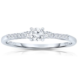 Collette Z Sterling Silver Cubic Zirconia Ring (More options available)