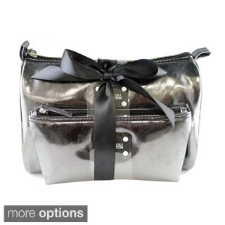 Kenneth Cole Reaction 2-Piece Cosmetic Bag Set - Shimmer Finish