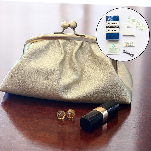 Women's Tres Chic Vintage Clutch with Survival Kit