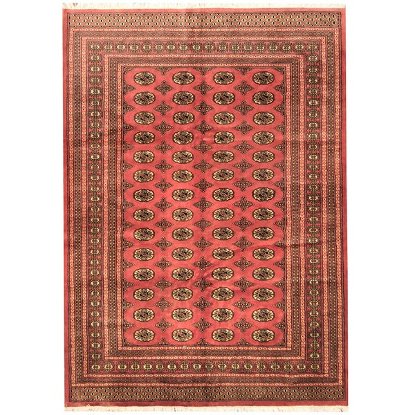 Persian Bokhara Hand Knotted Wool Area Rug: Shop Herat Oriental Pakistani Hand-knotted Prince Bokhara