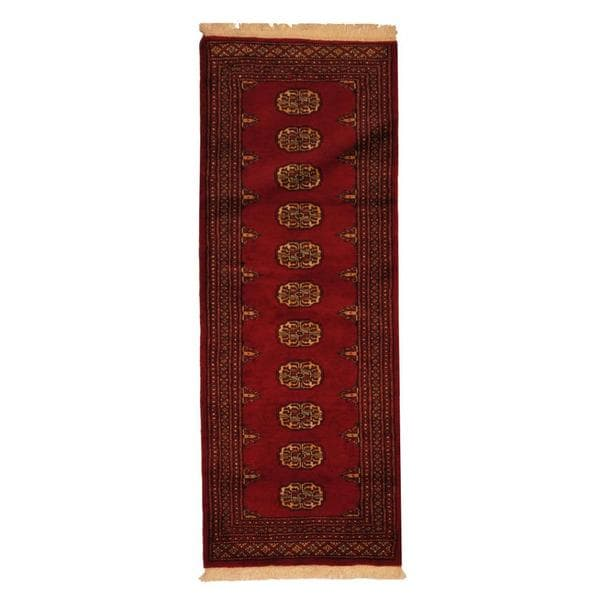 Pakistan Bokhara Rugs In Red: Shop Herat Oriental Pakistan Hand-knotted Prince Bokhara
