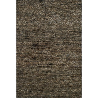 "Hand Knotted Phoenix Rug Bark (8'6""X11'6"")"