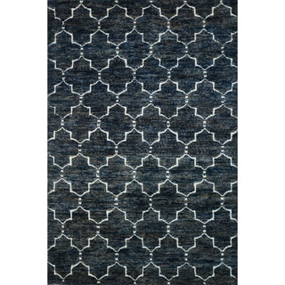 "Hand Knotted Phoenix Rug Navy (7'9""X9'9"")"