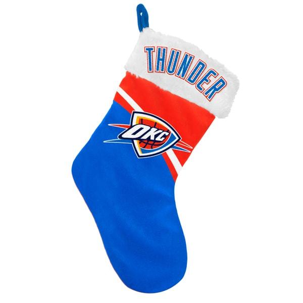 NBA Oklahoma City Thunder Swoop Logo Stocking