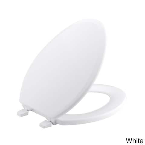Kohler Brevia Plastic Elongated Slow Close Toilet Seat