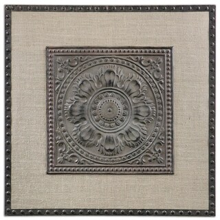 Uttermost SFilandari Stamped Metal Wall Art