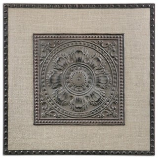 Uttermost SFilandari Stamped Metal Wall Art (Option: Stamped Metal Wall Art)