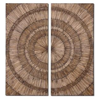 Uttermost Lanciano Wood Wall Art (Set of 2)