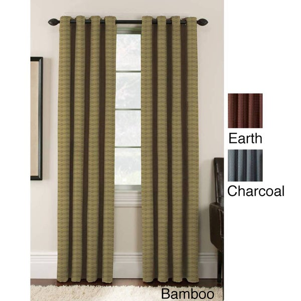 Lynette Blackout Grommet Curtain Panel Pair