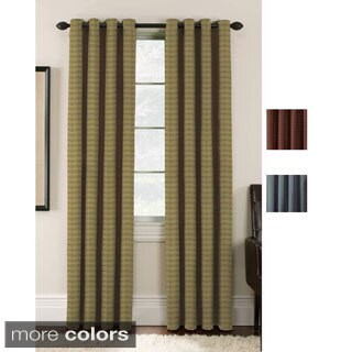 Lynette Blackout Grommet Curtain Panel Pair