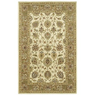 Anabelle Ivory Hand Tufted Wool Area Rug 10 X 14