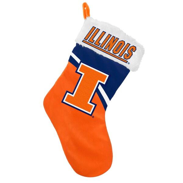 NCAA Illinois Fighting Illini Swoop Logo Stocking