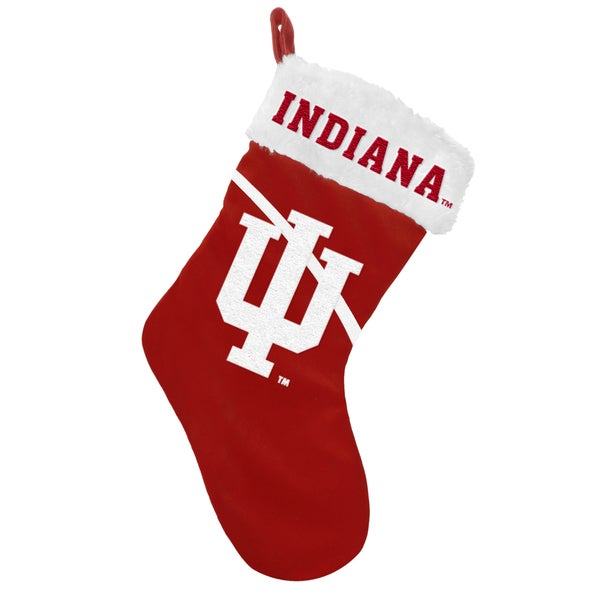 NCAA Indiana Hoosiers Swoop Logo Stocking