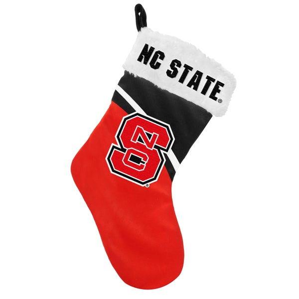 NCAA North Carolina State Wolfpack Swoop Logo Stocking