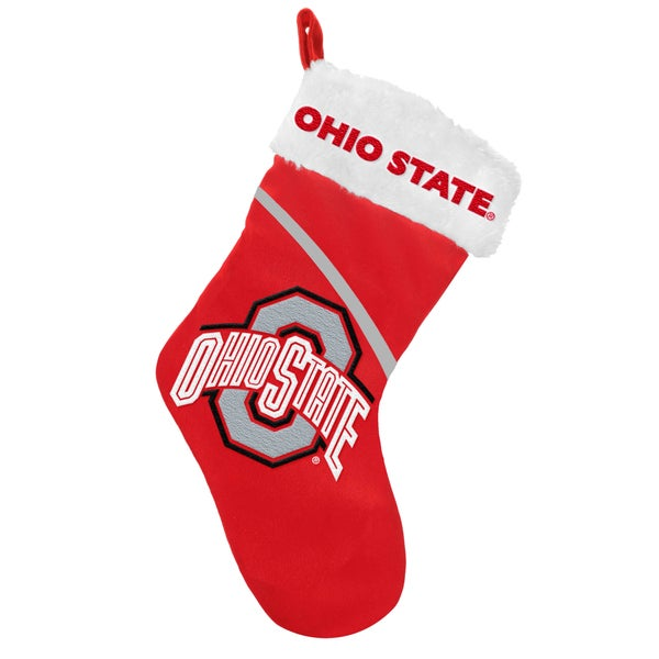 Forever Collectibles NCAA Ohio State Buckeyes Swoop Logo Stocking