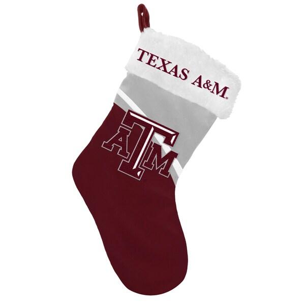 NCAA Texas AM Aggies Swoop Logo Stocking