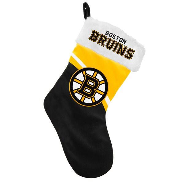 NHL Boston Bruins Swoop Logo Stocking