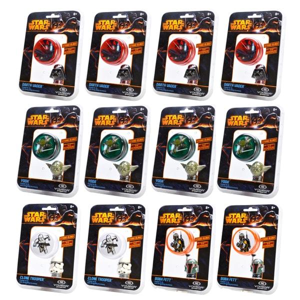 Star Wars Yomega String Bling YoYo Variety (Pack of 12)