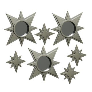 Elements Gold Star Wall Mirrors and Plaques (Set of 7)|https://ak1.ostkcdn.com/images/products/8531575/Elements-Gold-Star-Wall-Mirrors-and-Plaques-Set-of-7-P15813140.jpg?impolicy=medium