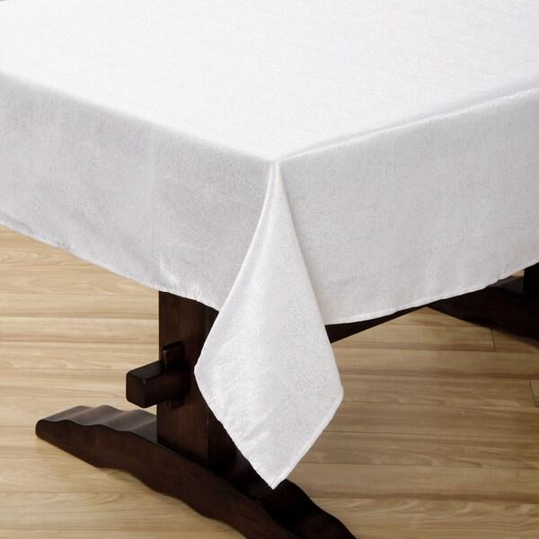 Sandstone White Tablecloth