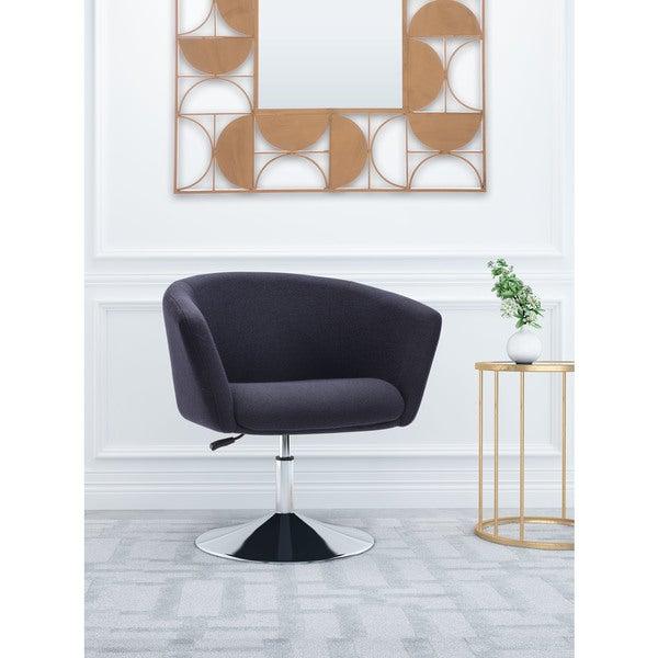 Gray Iron Arm Chair