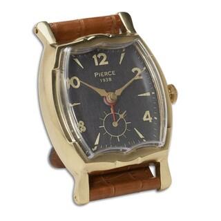 Uttermost Wristwatch Alarm Square Pierce Clock
