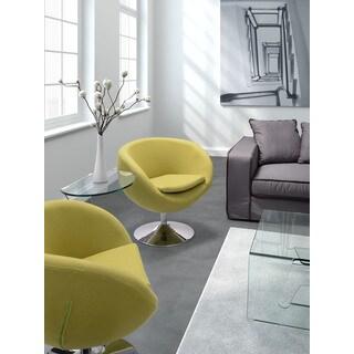Pistachio Green Arm Chair