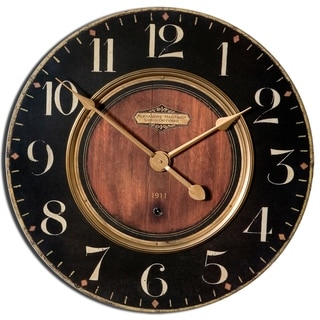Link to Uttermost 'Alexandre Martinot' 23-inch Round Wall Clock Similar Items in Decorative Accessories