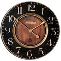 Uttermost 'Alexandre Martinot' 23-inch Round Wall Clock