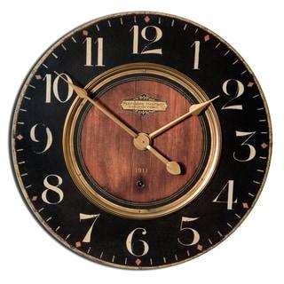Uttermost 'Alexandre Martinot' 30-inch Round Wall Clock