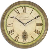 Uttermost Regency 'B. Rossiter' Weathered Wall Clock