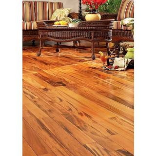 Exotic Brazilian Tigerwood 26.05 Square Feet Engineered Hardwood Flooring