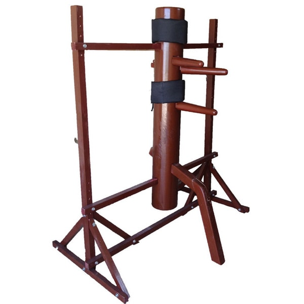 Kung fu Red Wing Chun Wooden Dummy