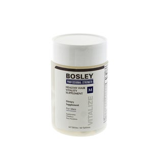 Bosley Healthy Hair Vitality Men's 60-count Hair Supplement