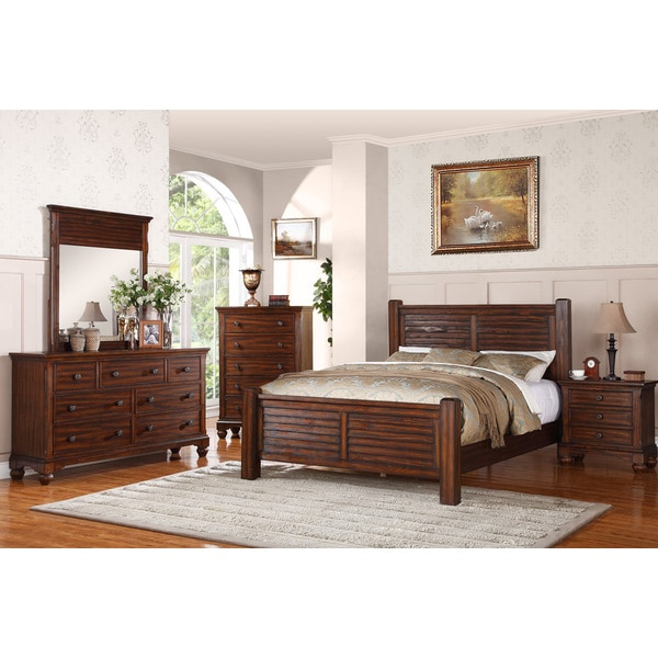 woodrow island 5 piece bedroom set 5 pieces free