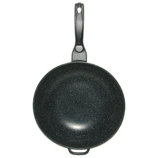 Link to Mega Cook 12-inch Non-stick Stone Marble Forged Aluminum Frying Pan Wok Similar Items in Cookware