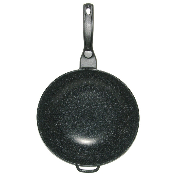Shop Mega Cook 12 Inch Non Stick Stone Marble Forged