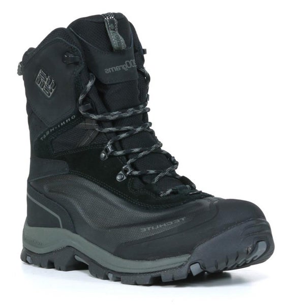 Columbia Men's 'Bugaboot Plus' Black Leather Insulated Boots
