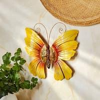 Handmade Butterfly Sunflower Wall Decor