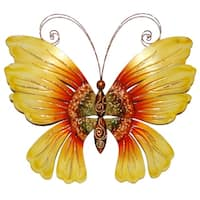 Handmade Butterfly Sunflower Wall Decor (Philippines)