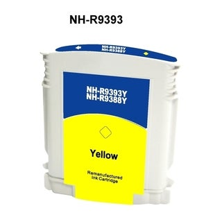 INSTEN HP 88/ C9393AN/ 9388AN Yellow Ink Cartridge (Remanufactured)